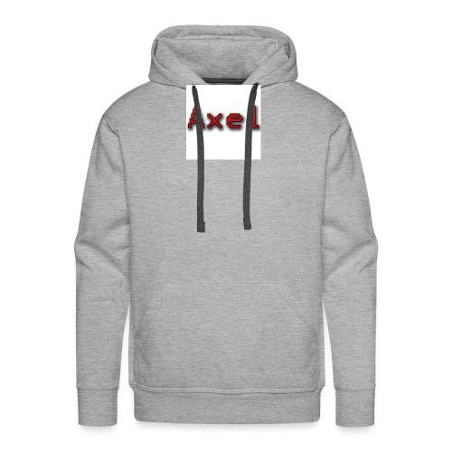 Retro Pixel Logo - Mannen Premium hoodie