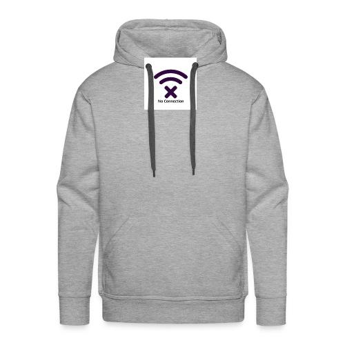 No Connection Badge Kollektionen - Herre Premium hættetrøje