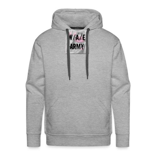 W/A/E ARMY GIRLY - Miesten premium-huppari