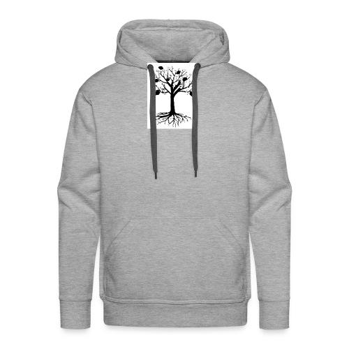 Drevo +Fehu - Sudadera con capucha premium para hombre