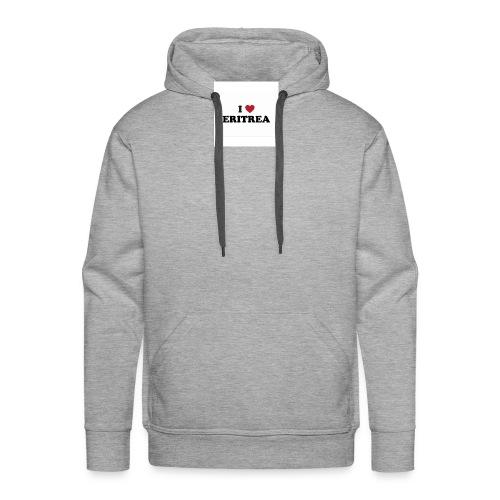 i love eritrea - Männer Premium Hoodie