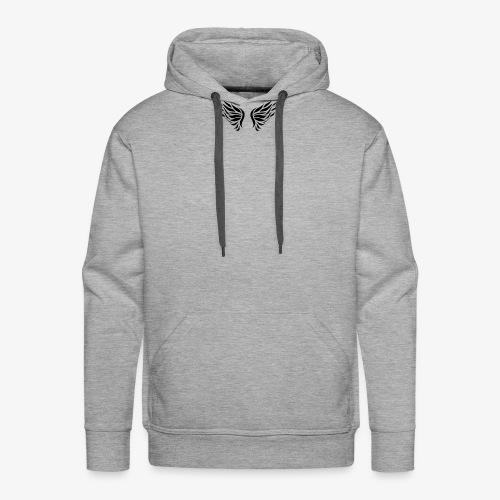 Camiseta Edicion Alas de Angel - Sudadera con capucha premium para hombre