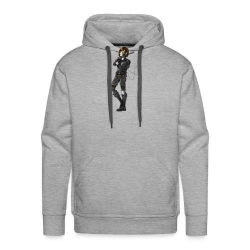 Maelle Militaire - Sweat-shirt à capuche Premium pour hommes