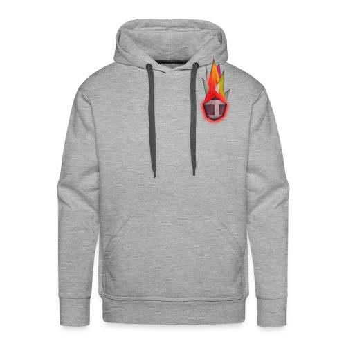 Abstract H LETTER - Mannen Premium hoodie