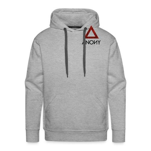 Anony Logo - Sudadera con capucha premium para hombre