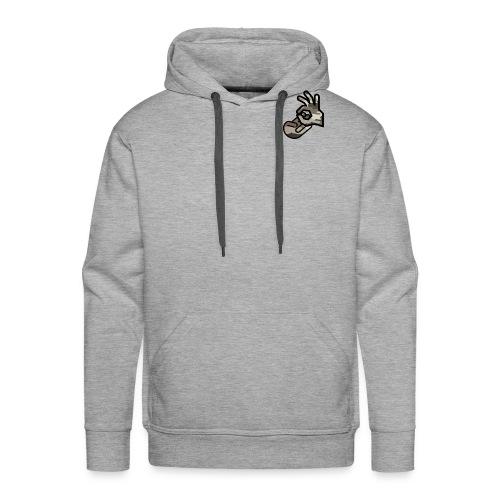 KrusherLogo - Bluza męska Premium z kapturem
