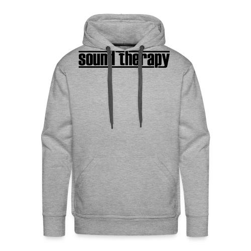 Sound Therapy (black) - Premiumluvtröja herr