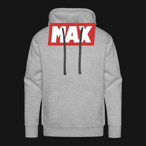 Max Red/white - Sweat-shirt à capuche Premium pour hommes