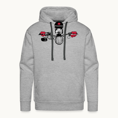 Motard Micky on the Road - Sweat-shirt à capuche Premium pour hommes
