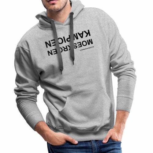 Moeskroen Kampioen - Mannen Premium hoodie