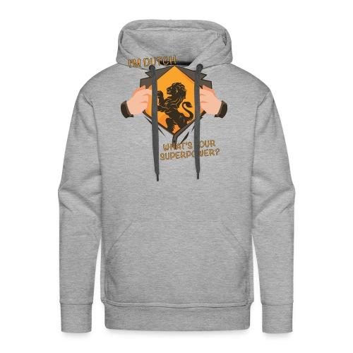 I'm Dutch, what's your superpower? - Mannen Premium hoodie