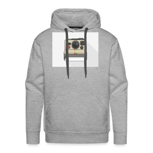 Polaroid Retro - Männer Premium Hoodie