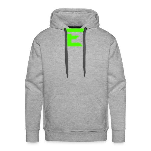 E for Emerald - Men's Premium Hoodie