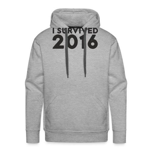 I SURVIVED 2016 - Men's Premium Hoodie