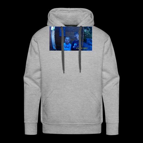Xander et de jasmin - Sweat-shirt à capuche Premium pour hommes