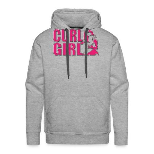 CURL GIRL chorme - Männer Premium Hoodie