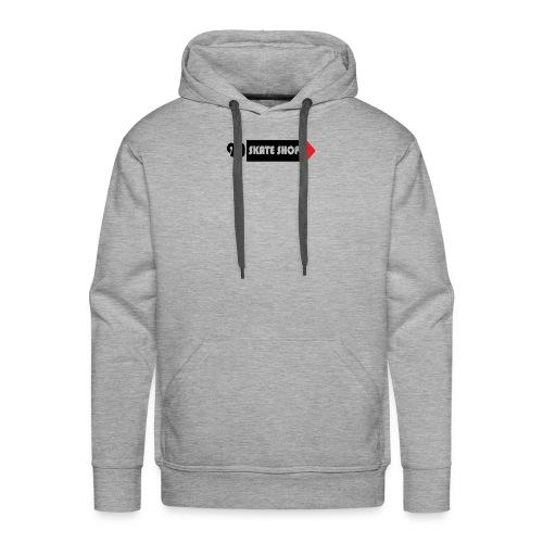 90 skate shop - Sudadera con capucha premium para hombre