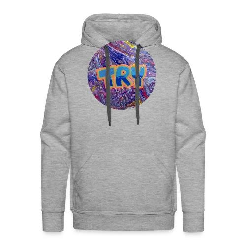 TRY - Mannen Premium hoodie