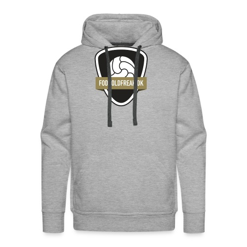 fodboldfreak logo - Herre Premium hættetrøje