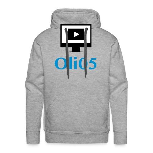 Oli05 Original logo - Premium hettegenser for menn