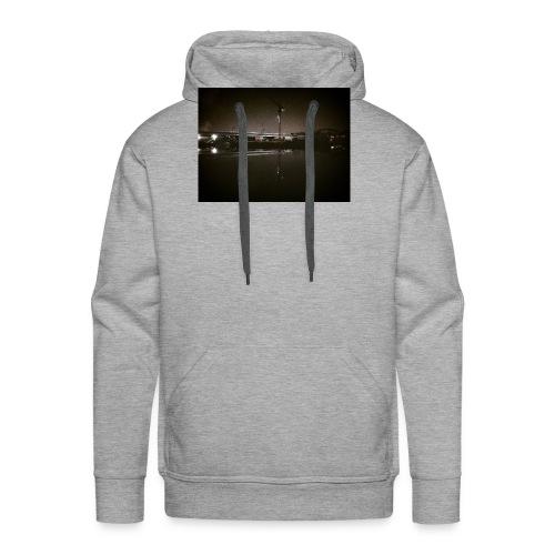 Dark Water View - Sweat-shirt à capuche Premium pour hommes