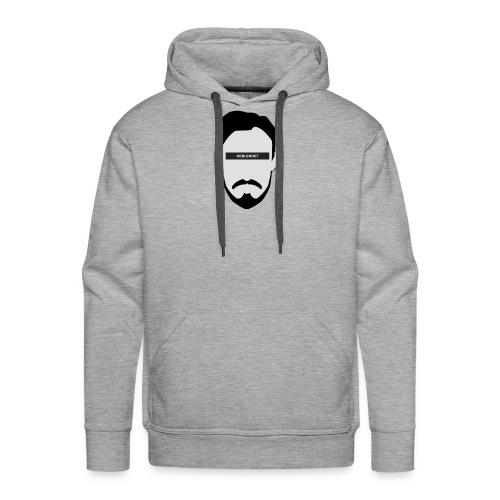 Geblendet Gesicht - Männer Premium Hoodie