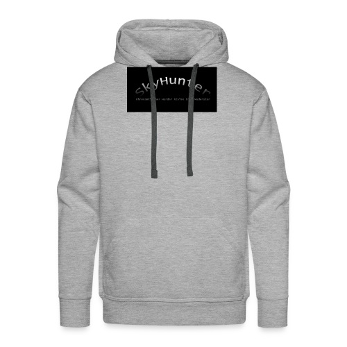 SkyHunter Logo Black - Männer Premium Hoodie