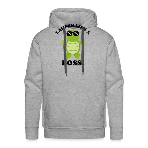 Laufen LIKE a BOSS - Männer Premium Hoodie