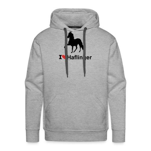 I Love Haflinger - Männer Premium Hoodie