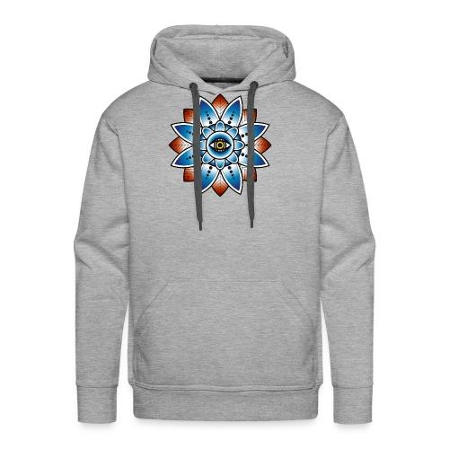 Psychedelisches Mandala mit Auge - Männer Premium Hoodie
