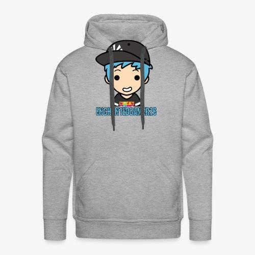 Logo met naam - Mannen Premium hoodie