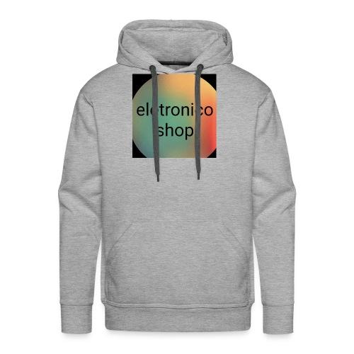 Eletronico shop - Felpa con cappuccio premium da uomo
