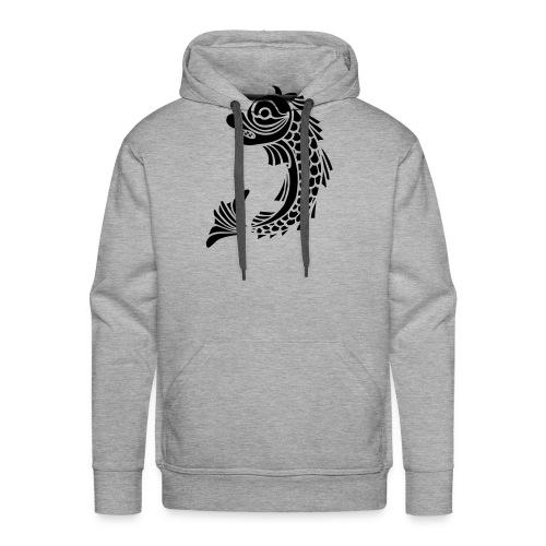 grenoble dauphin - Sweat-shirt à capuche Premium pour hommes