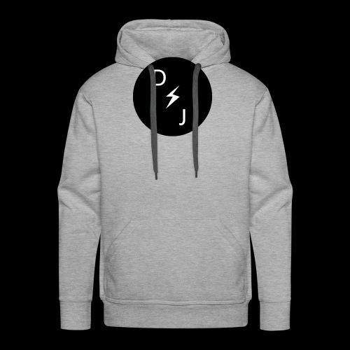 DJ - Sweat-shirt à capuche Premium pour hommes