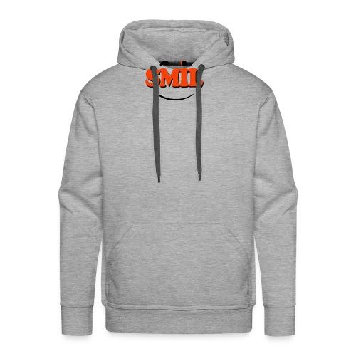 SMIL - Herre Premium hættetrøje