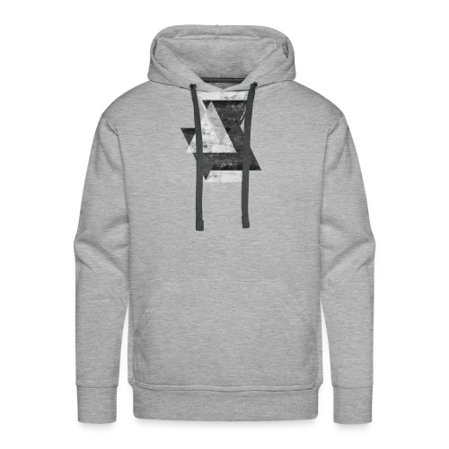 Triangles - Men's Premium Hoodie