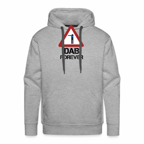 Dab Forever Red - Felpa con cappuccio premium da uomo
