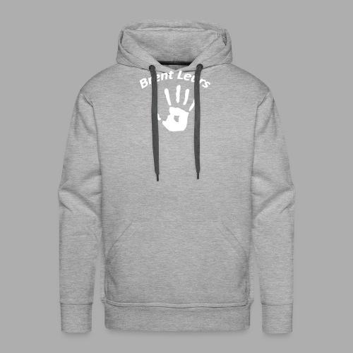 Petje Brent leurs - Mannen Premium hoodie