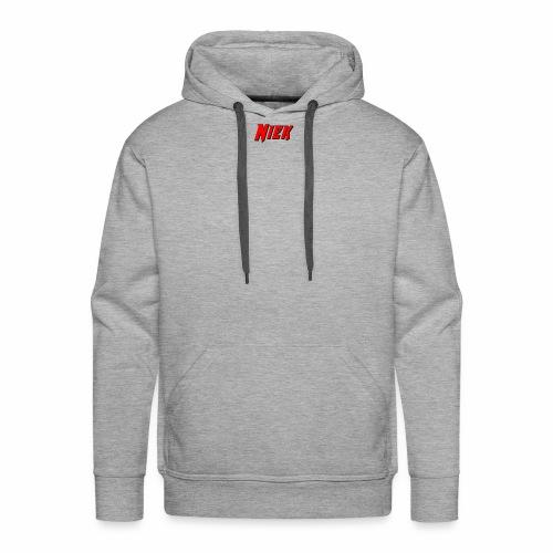 Niek Red - Mannen Premium hoodie