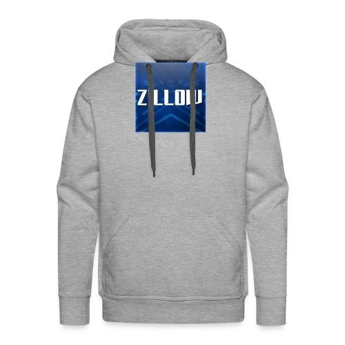 Zillow Logo - Men's Premium Hoodie