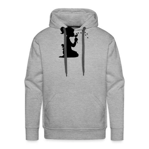 Koszulka blowing - Felpa con cappuccio premium da uomo