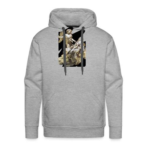 Éxtasis de Santa teresa - Sudadera con capucha premium para hombre