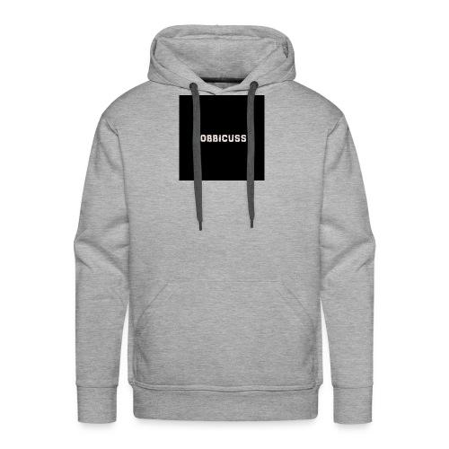 tobbicuss klær - Premium hettegenser for menn