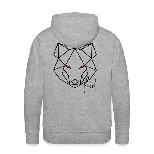 Wolf Rudel - Männer Premium Hoodie