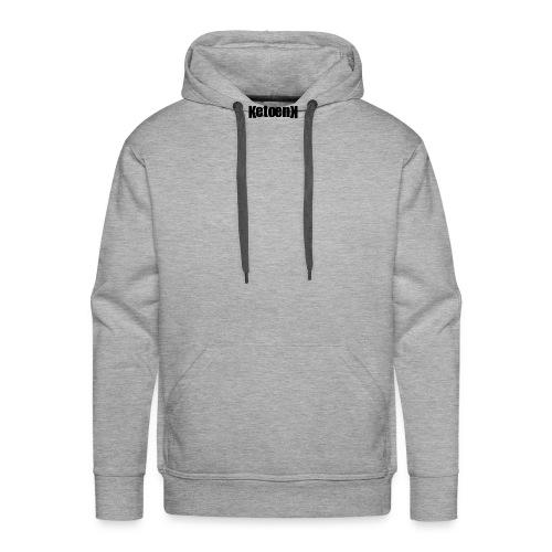 Ketoenk 2.2 Zwart Midden - Sweat-shirt à capuche Premium pour hommes