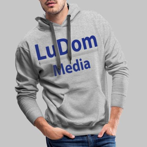 LuDom Media Merchandising - Logo - Männer Premium Hoodie