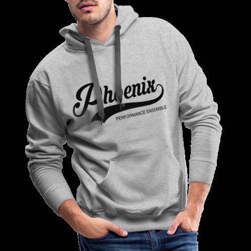 Phoenix Retro Black - Männer Premium Hoodie