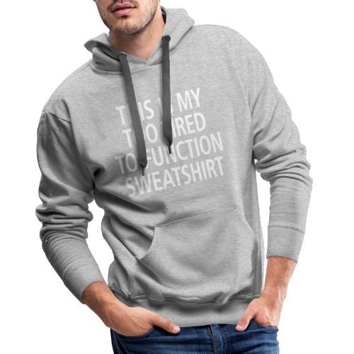 Sweatshirt white - Männer Premium Hoodie