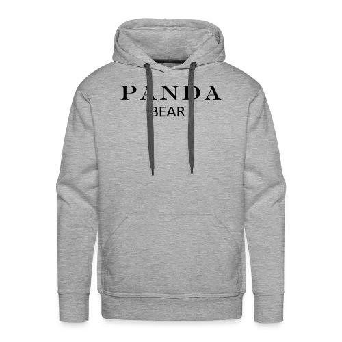 PANDA BÄR - Männer Premium Hoodie