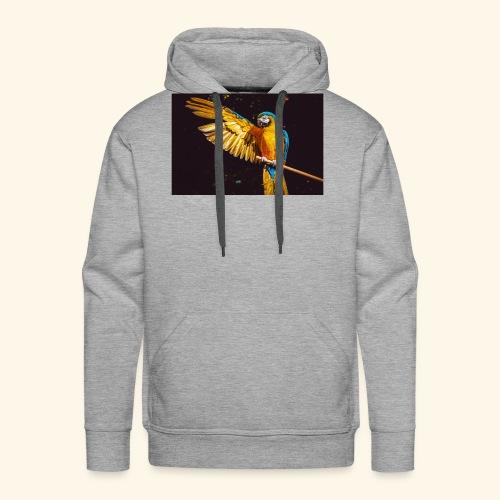 Papagei - Männer Premium Hoodie